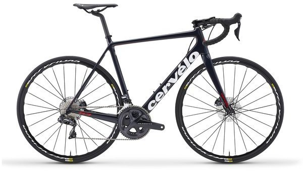 Cervelo R3 Disc Ultegra Di2 8070 Color: Navy/White