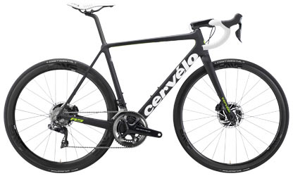 Cervelo R5 Disc Dura-Ace Di2 9170 Color: Black/Green