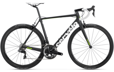 Cervelo R5 Dura-Ace Di2 9150 Color: Black/Green