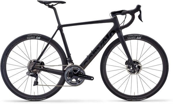 Cervelo R5 Disc Dura Ace Di2 Color: Black/Black/Graphite