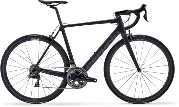 Cervelo R5 Dura Ace Di2 Rim Color: Black/Black/Graphite