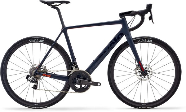 Cervelo R5 eTap Disc Color: Navy/Red/Orange