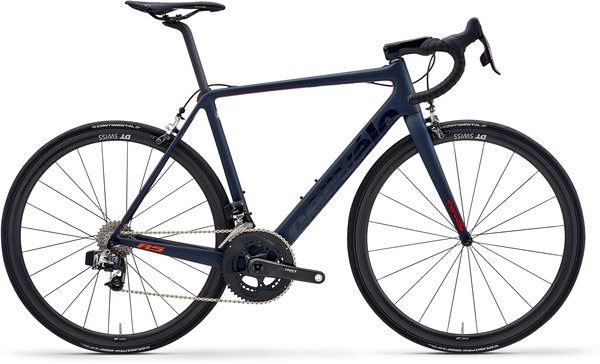 Cervelo R5 eTap Rim Color: Navy/Red/Orange