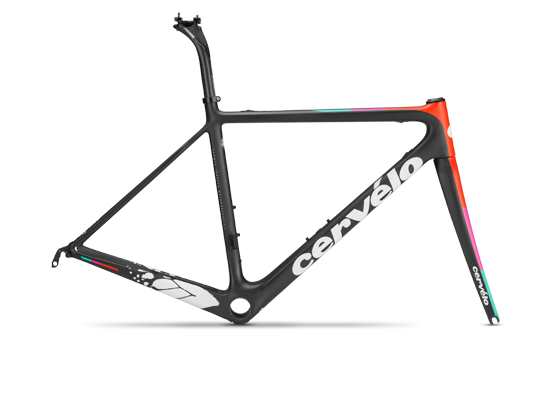 Cervelo R5 Team Velocio Frameset Color: Team Velocio