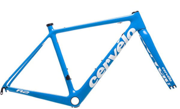 Cervelo R2 Frameset Color: Riveria/White/White