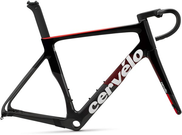 Cervelo S-Series Disc Frameset Color: Graphite/Black/Red