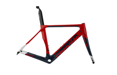 Cervelo S3 Disc Frameset Color: Red/Navy