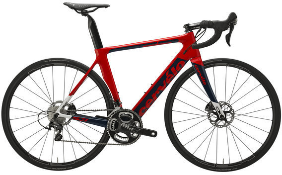 Cervelo S3 Disc Ultegra 6800 Color: Red/Navy