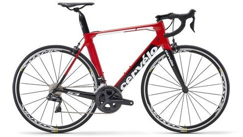 Cervelo S3 Rim Ultegra Di2 8050 Color: Red/Black/White