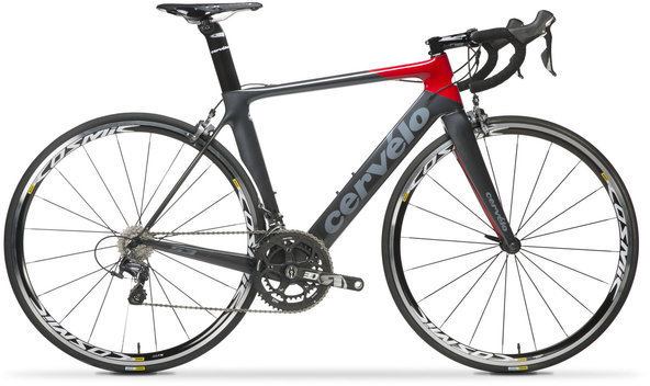 Cervelo S3 Ultegra 6800 Color: Black/Red