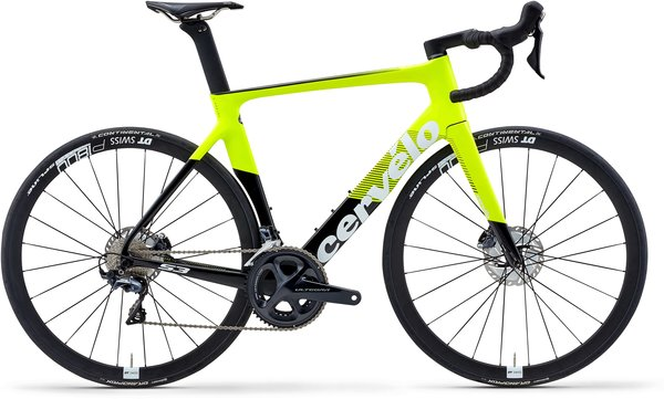 Cervelo S3 Ultegra Disc Color: Fluoro/Black/White