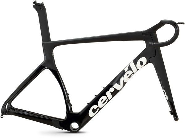 Cervelo S5 Disc Frameset Color: Black/Graphite/White