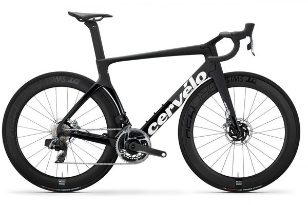Cervelo S5 Disc Red eTap AXS Color: Black/Graphite/White