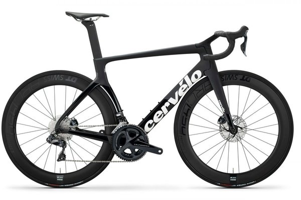 Cervelo S5 Disc Ultegra Di2 Color: Black/Graphite/White