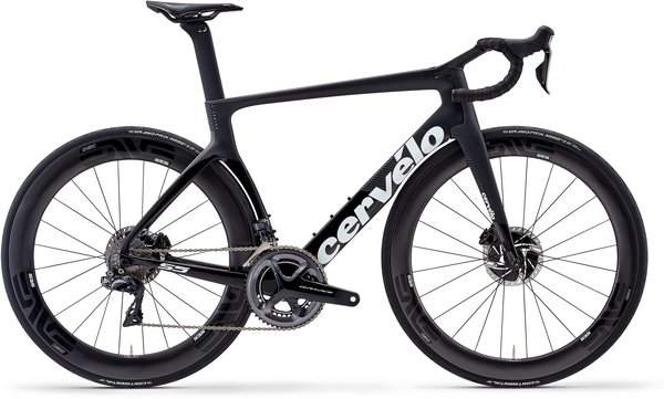 Cervelo S5 Dura Ace Di2 Disc Color: Black/Graphite/White