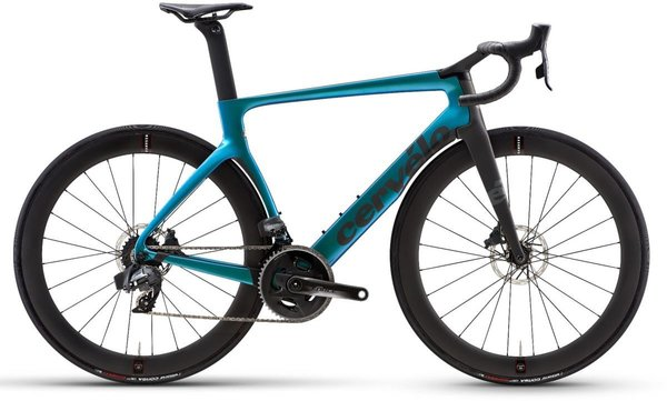 Cervelo S5 Force eTap AXS Color: Blue Chameleon