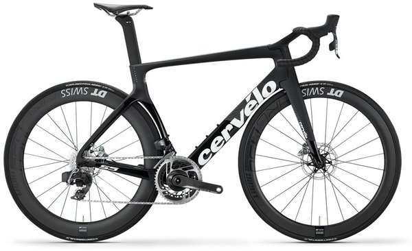 Cervelo S5 Red eTap AXS Disc Color: Black/Graphite/White