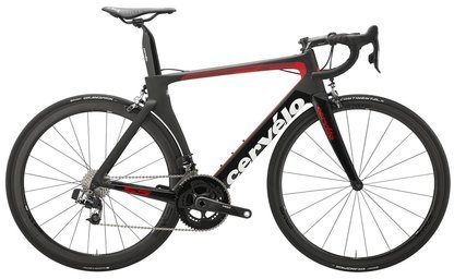 Cervelo S5 Ultegra 8000 Color: Black/Red