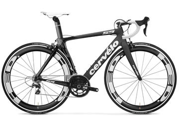 Cervelo S5 (Dura-Ace) Color: Black/White