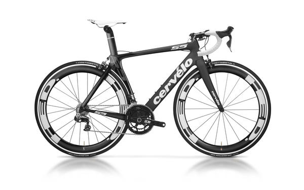 Cervelo S5 (Dura-Ace Di2) Color: Black/White