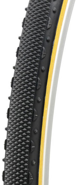 Challenge Tires Almanzo Tubular Color: Black/Tan