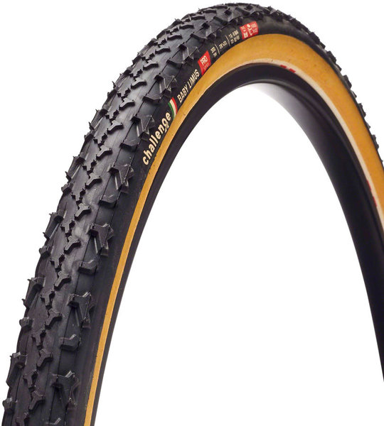 Challenge Tires Baby Limus Pro Tubular Color: Black/Tan