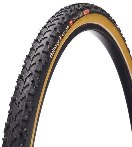 Challenge Tires Baby Limus Pro Handmade Tubular Color: Black/Tan