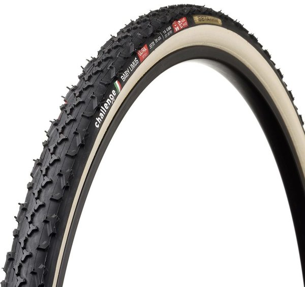 Challenge Tires Baby Limus Ultra Handmade Tubular Color: Black/Cream