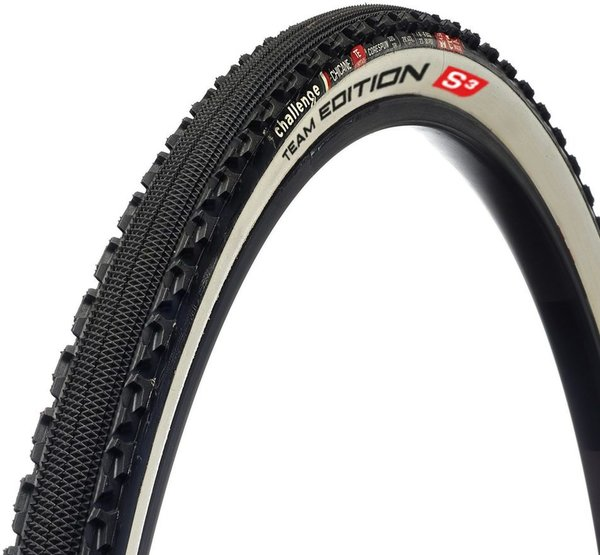 Challenge Tires Chicane Team Edition S3 Handmade Tubular Color: Black/White