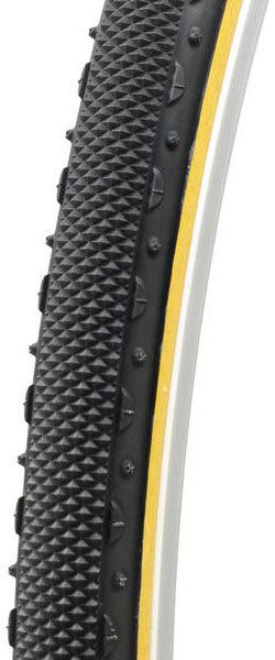 Challenge Tires Almanzo Open Tubular (Clincher) Color: Black/Tan