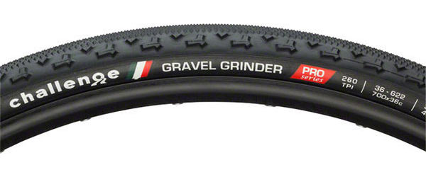 Challenge Tires Gravel Grinder Race Open Tubular Tire Color | Size: Black | 700 x 36c
