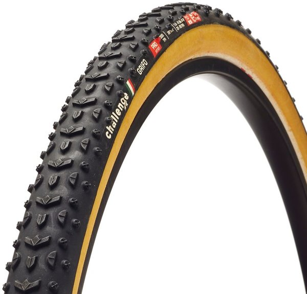 Challenge Tires Grifo Pro Handmade Tubular Color: Black/Tan