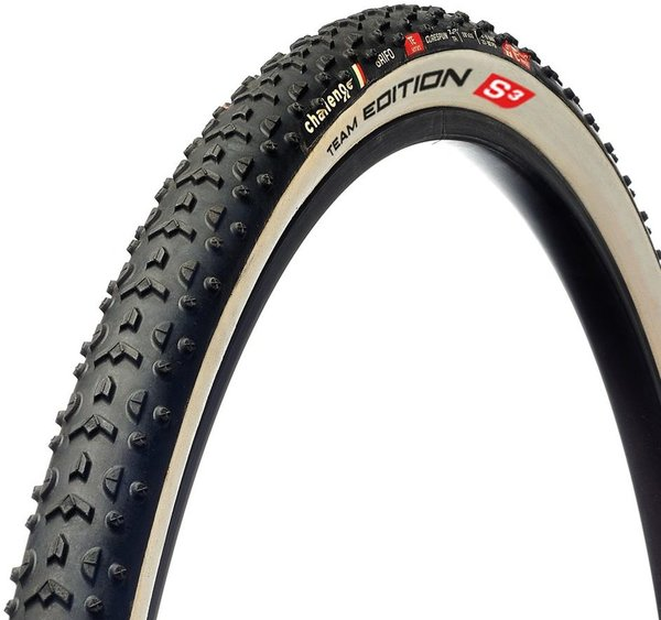 Challenge Tires Grifo Team Edition S3 Handmade Tubular Color: Black/White