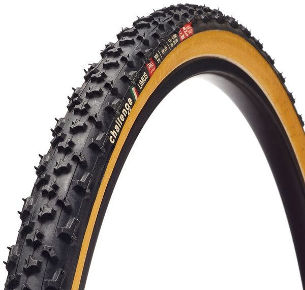 Challenge Tires Limus Pro Handmade Tubular Color | Size: Black/Tan | 700c x 33