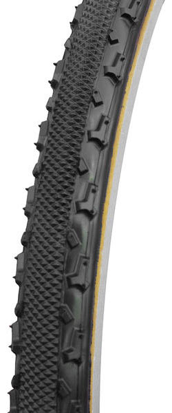 Challenge Tires Chicane Open Tubular Color: Black/Tan