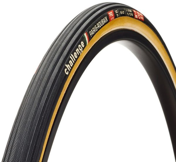 Challenge Tires Paris-Roubaix Pro Handmade Tubular Color: Black/Tan