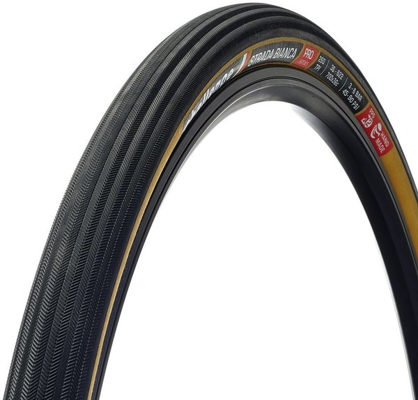 Challenge Tires Strada Bianca Pro Handmade Clincher Color: Black/Tan