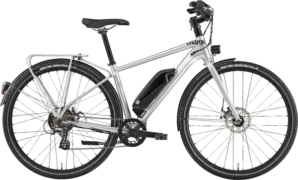 Charge Bikes City High Step Color: Silver