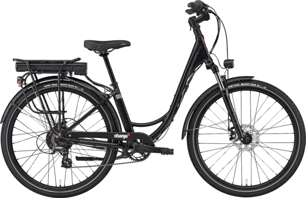 Charge Bikes Comfort Color: Black
