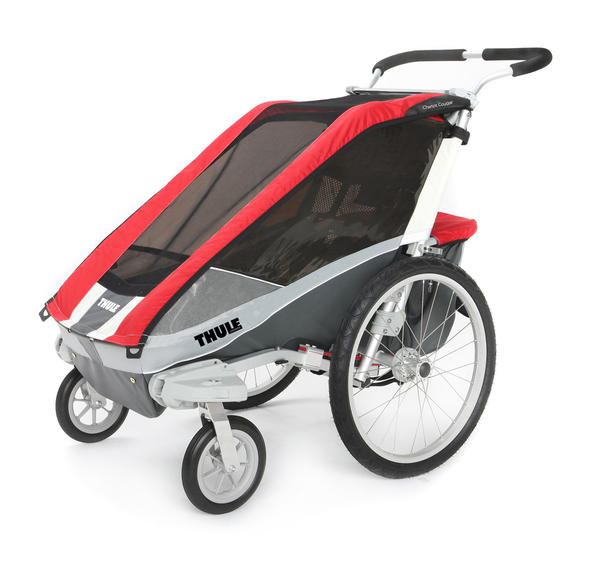 Thule Chariot Cougar 1 Color: Red