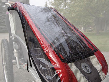 Chariot Carriers Rain Cover