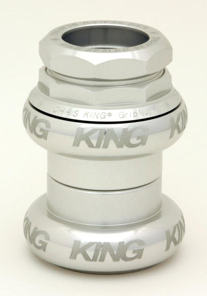 Chris King Gripnut Headset Sotto Voce (1-inch) Color: Silver