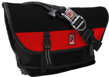 los angeles e323f 320e3 Citizen Buckle Messenger Bag (Black-Red)