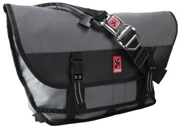 Chrome Citizen Buckle Messenger Bag (Gray-Black)