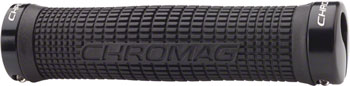 Chromag Squarewave Grips Color: Black/Black