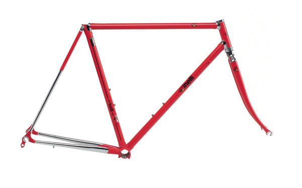 Cinelli Supercorsa Frameset Color: Red/Chrome