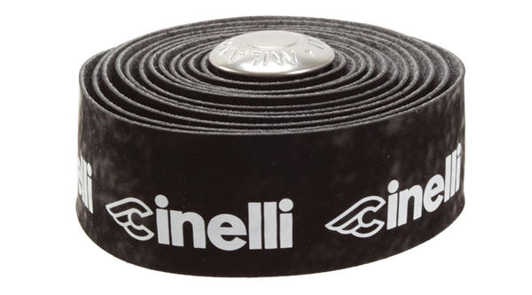 Cinelli Velvet Cinelli Logo Handlebar Tape Color: Black/White Logo