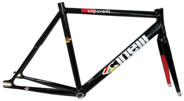 Cinelli Vigorelli Frameset Color: Black