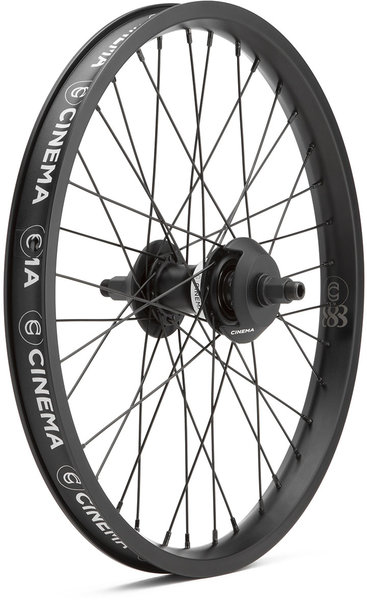 Cinema BMX 888 Freecoaster Rear Wheel Color: Black