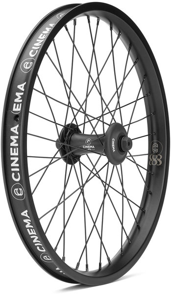 Cinema BMX 888 Front Wheel Color: Black